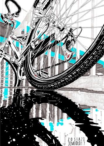 Zosia Jemioło - Rainy Bike