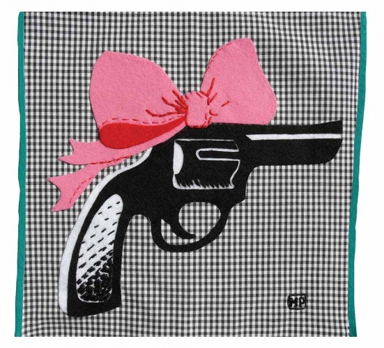 Marta Pieczonko - Revolver and bow
