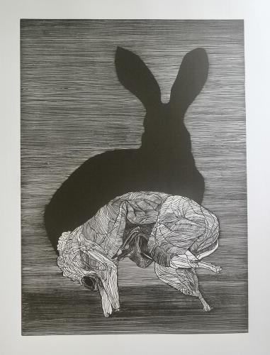 Petrela Kuźmicka - Rewers - królik