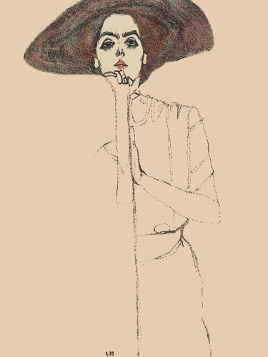 Portrait of a Woman, Egon Schiele