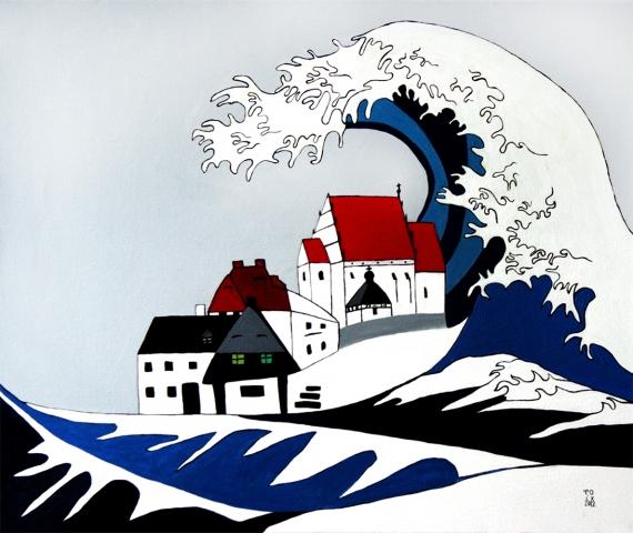 Roksana Kularska Król - Tsunami in Kazimierz Dolny