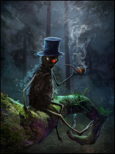 Matylda Konecka - The Pipe Smokers Tree