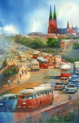 Tytus Brzozowski - Na Pragie.