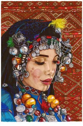 Monika Wyłoga - Amazigh woman II