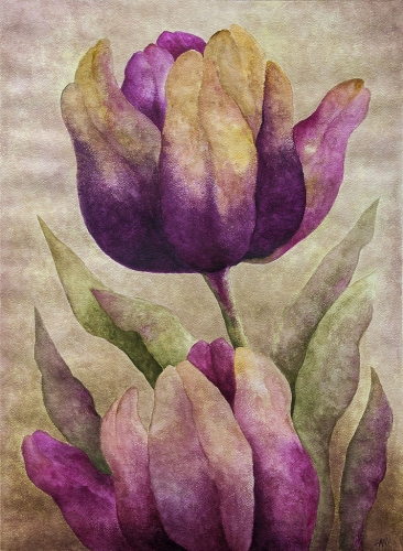 Anna Wojciechowska-Paprocka - Tulips 4