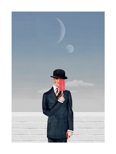 Resatio Adi Putra - After Magritte's Sons of Man