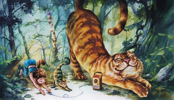 ERUDA art - NO.26 Tiger Episode