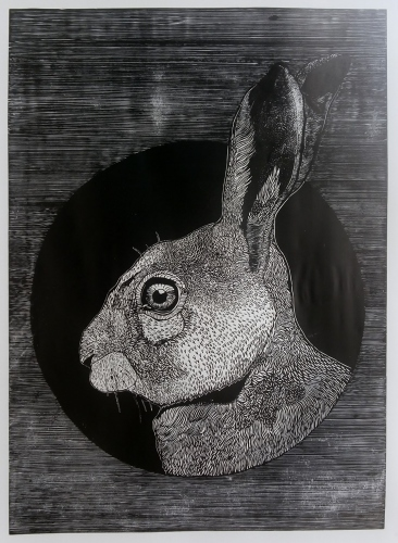 Petrela Kuźmicka - Obverse - rabbit