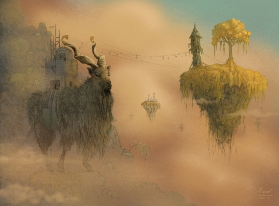Marcin Minor - The tiny travelers - goat