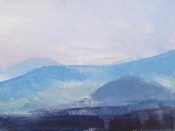 Weronika Marszelewska - Blue horizon