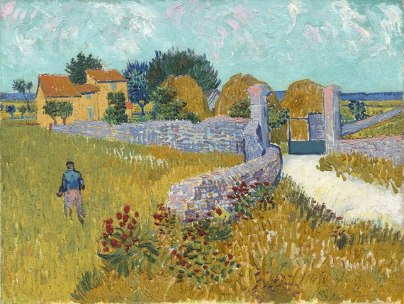 Farmhouse in Provence, Vincent van Gogh