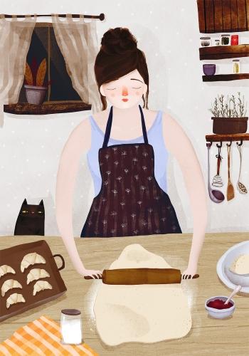 Anna Rudak - Küche