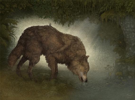 Marcin Minor - Mali podróżnicy- wilk