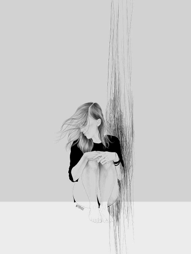 Agata Wierzbicka - Beach Black&White 2
