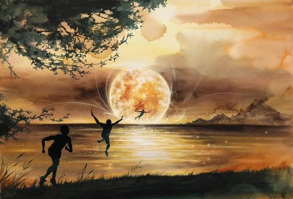 ERUDA art - I can fly