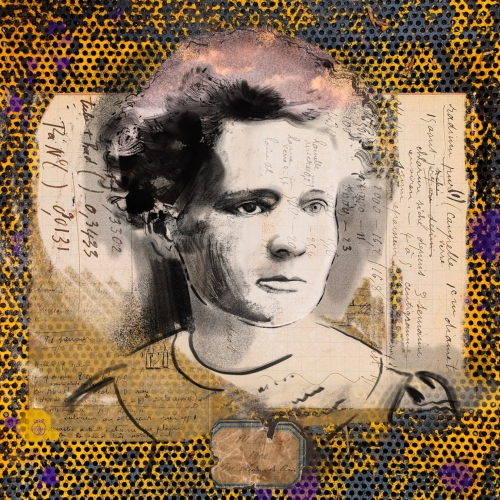Laura La Wasilewska - Portret Maria Skłodowska - Curie