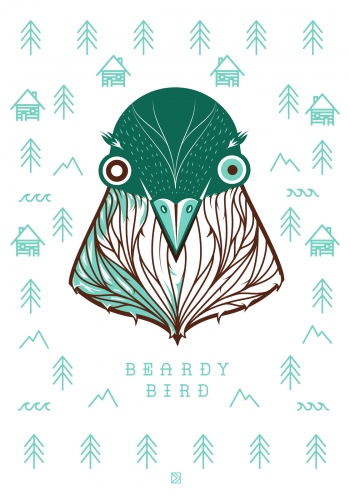 Dorota  Kraft  - Bearded bird