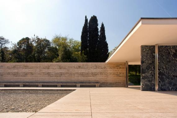 Wojtek Gurak - Barcelona Pavilion designed by Mies van der Rohe
