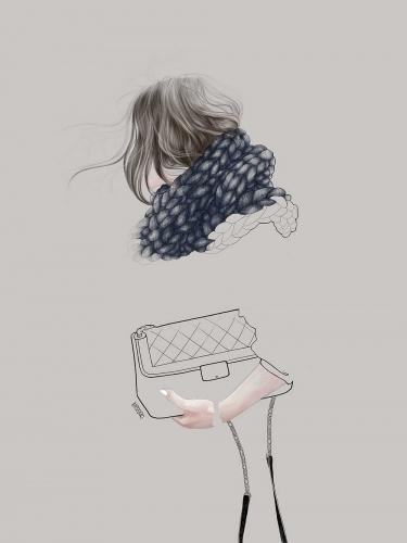 Agata Wierzbicka - Street Fashion - Winter