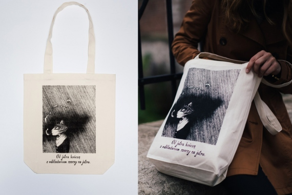 Karolina Danek - Cotton bag with graphics