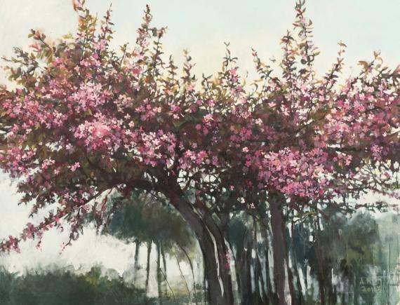 Aleksandra Rey - Spring from the series Organics