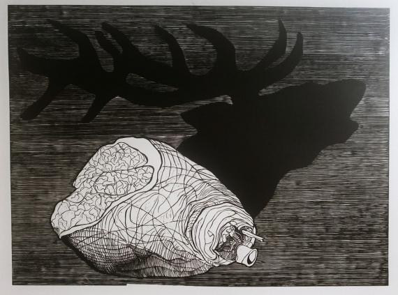 Petrela Kuźmicka - Reverse - deer