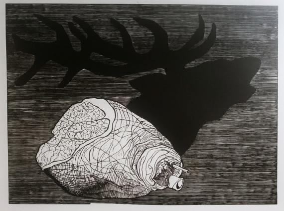 Petrela Kuźmicka - Rewers - jeleń