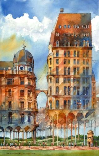 Tytus Brzozowski - Meadow cities.