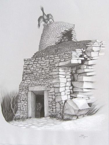 JAGA Karkoszka - Ruiny zamku w Lanckoronie