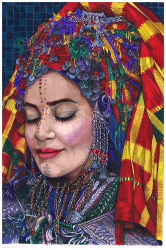 Monika Wyłoga - Amazigh woman IV