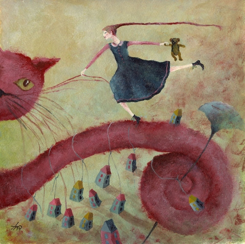 Anna Wojciechowska-Paprocka - My friend the cat