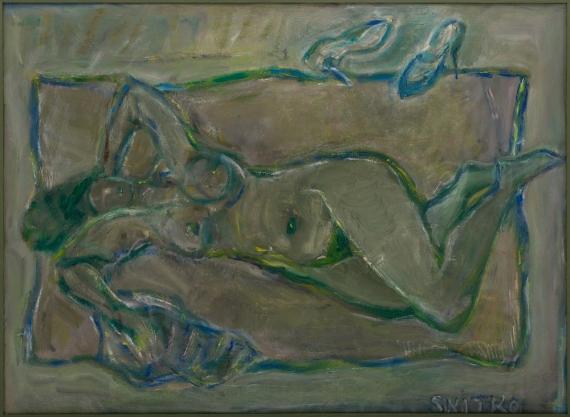 Lidia Snitko-Pleszko - Akt zielony