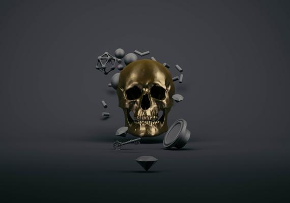Eugene Soloviev - Złota czaszka