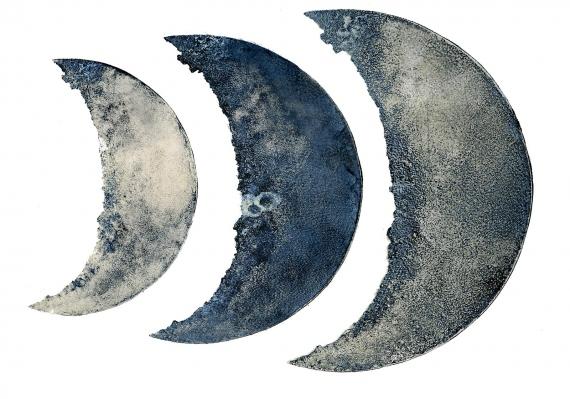 Anna Brzeska -  Moon phases