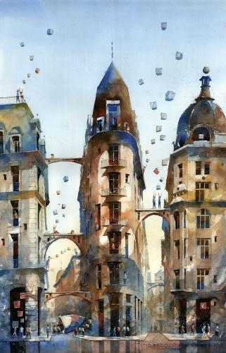 Tytus Brzozowski - The dream of Warsaw's corner.
