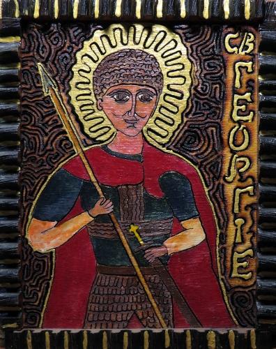 Alexey Esaulenko - Ikona Św. Jerzego
