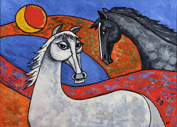 LILI FIJAŁKOWSKA - Horses 1