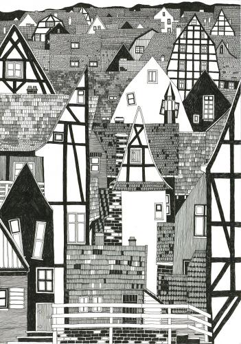Joanna Nykiel - Black and white