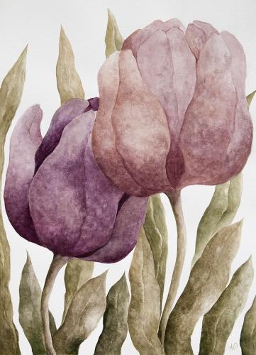 Anna Wojciechowska-Paprocka - Tulips 2