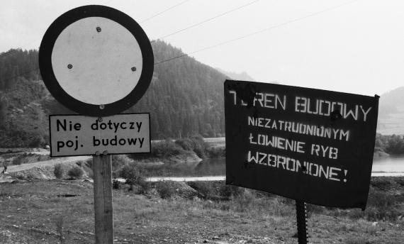 Zenon Żyburtowicz - Teren budowy