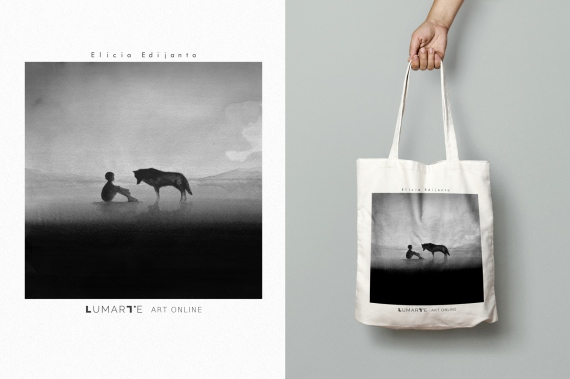 "Elicia Edijanto - ""Comforting Sounds"" cotton bag"