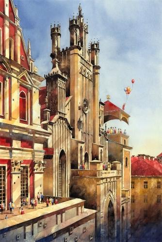 Tytus Brzozowski - Kathedrale 1837-1903