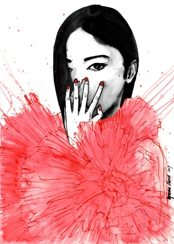 Agnieszka Nawrat - Red tulle