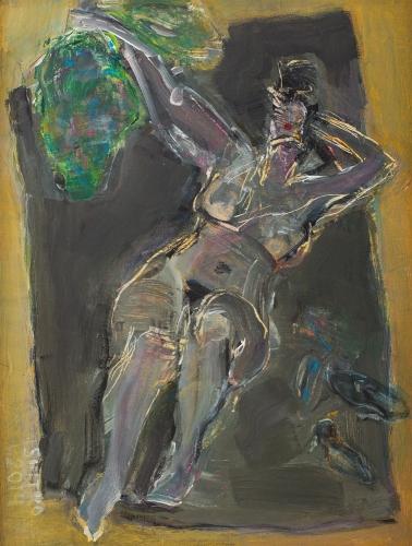 Lidia Snitko-Pleszko - Nude gray II