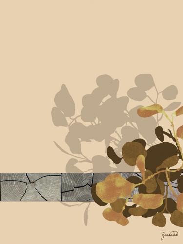 Małgorzata Goczewska - Goldene Sammlung: Holz und Blätter I