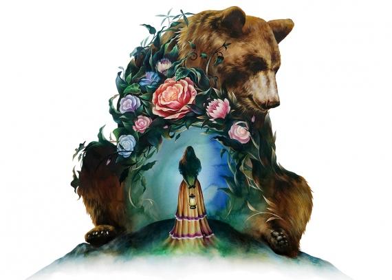 zazac namoo - FLOWER & BEAR