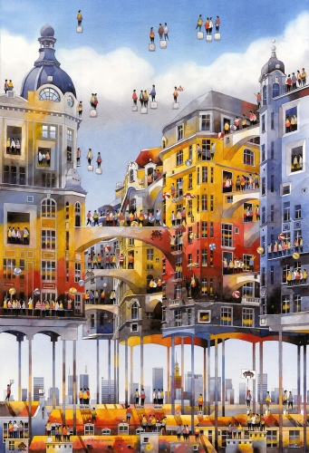 Tytus Brzozowski - The city above the city