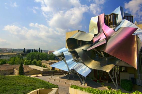 Wojtek Gurak - Hotel Marqués de Riscal designed by Frank Gehry