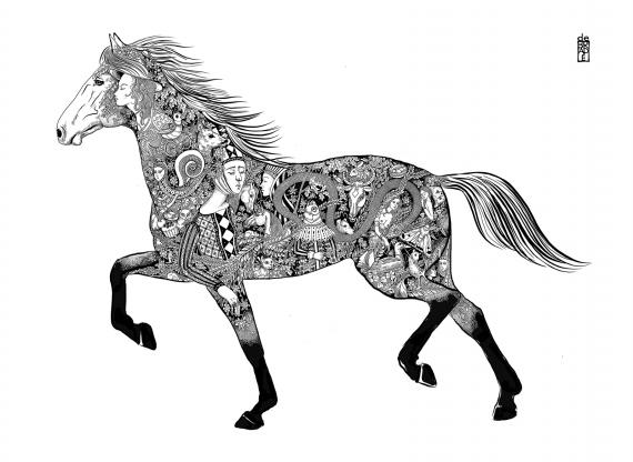 Malwina de Brade - Koń