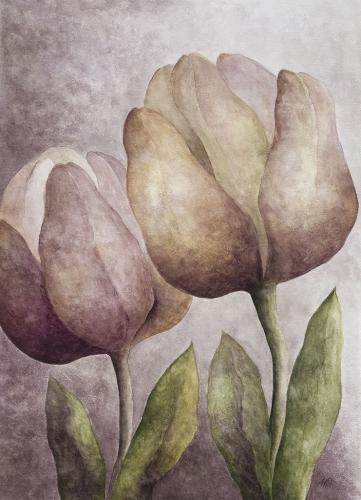 Anna Wojciechowska-Paprocka - Tulipany 1
